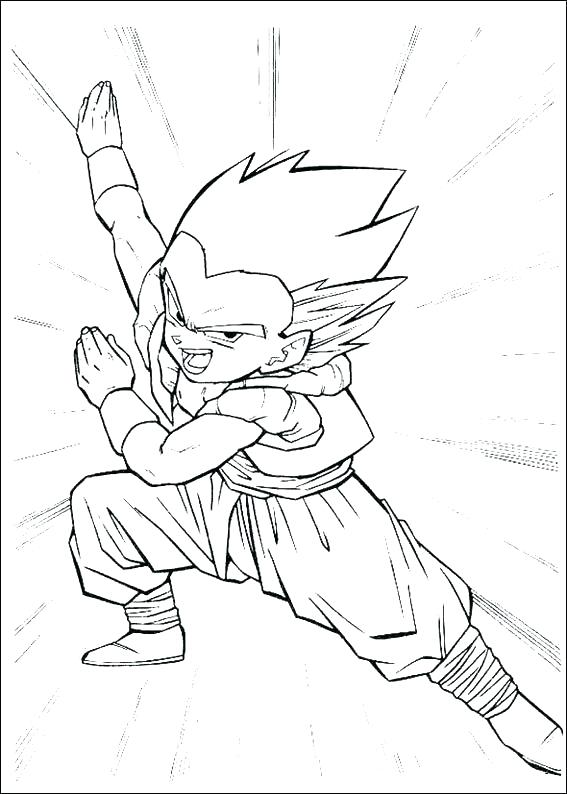 567x794 Dragon Ball Z Coloring Pages Free Coloring Pages Dragon Ball Z