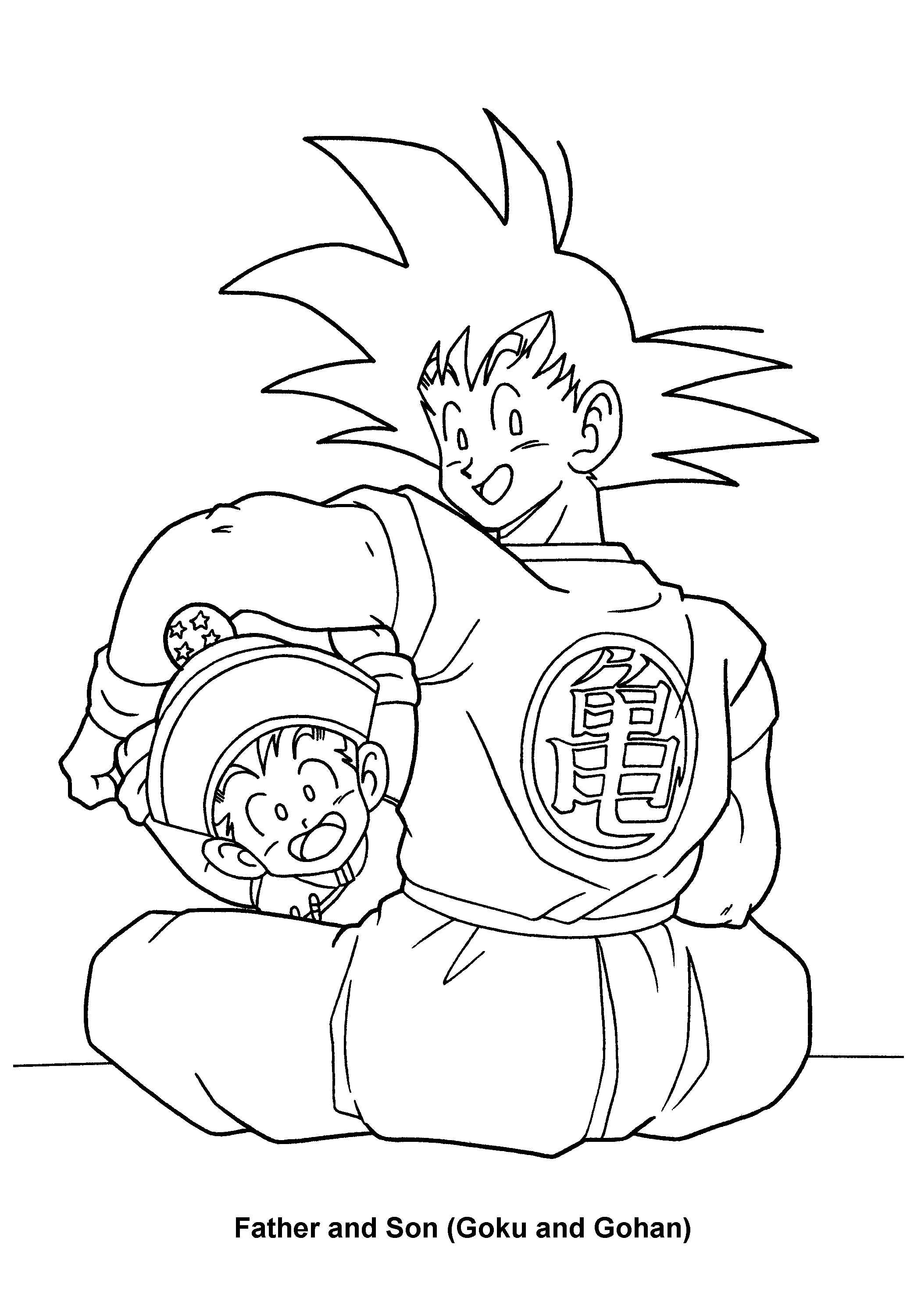 2100x3000 Stupefying Dragon Ball Z Coloring Pages Printable Your Kids Will