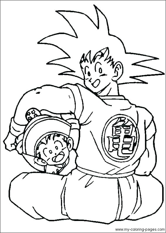 567x794 Z Coloring Pages Free For Kids Coloring Pages Dragon Ball Z