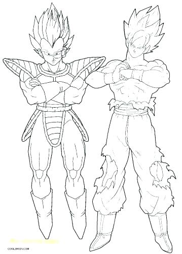 359x500 Coloring Pages Dragon Ball Z Characters Coloring Pages
