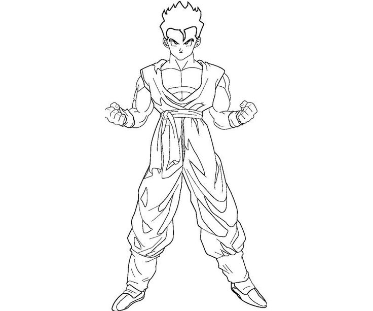 Dragon Ball Z Coloring Pages At Getdrawings Free Download
