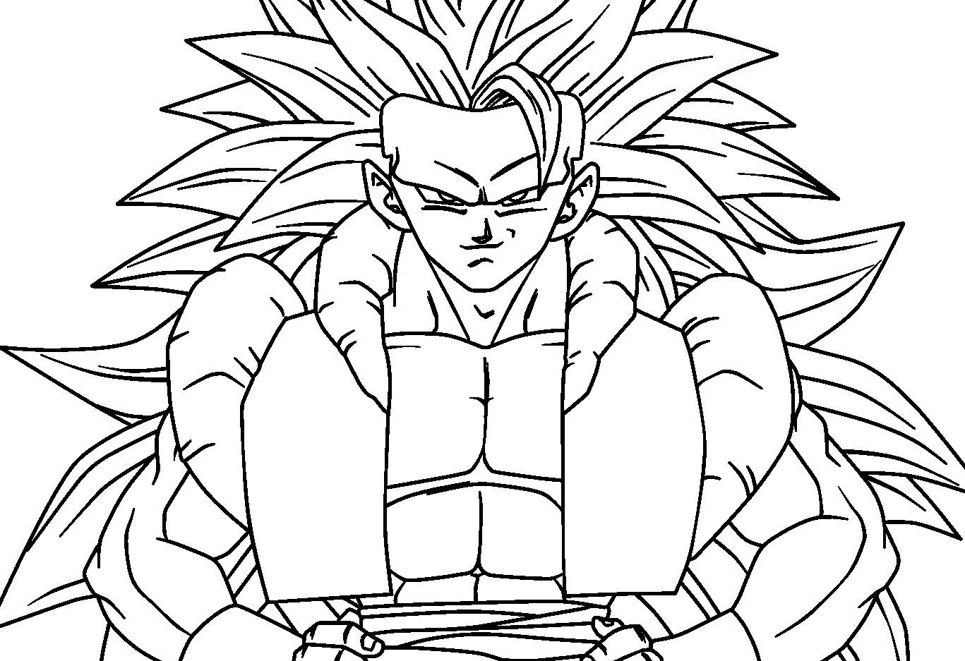 Dragon Ball Z Coloring Pages at GetDrawings.com | Free for ...