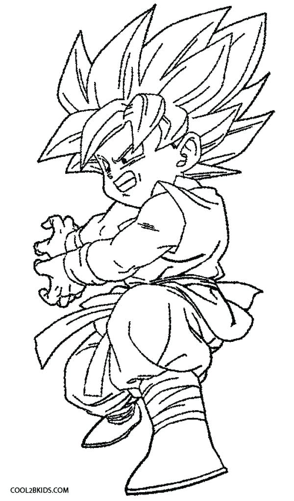 600x1020 Printable Dragon Ball Z Coloring Pages Printable Coloring Pages
