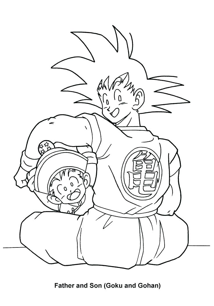 736x1051 Surprising Dragon Ball Z Color Pages Z Coloring Pages Dragon Ball