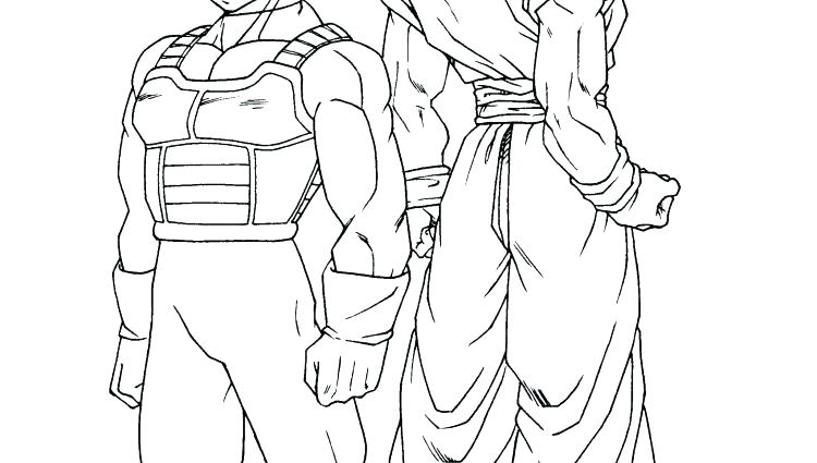 750x425 Coloring Pages Coloring Page Best Shots Dragon Ball Z Coloring