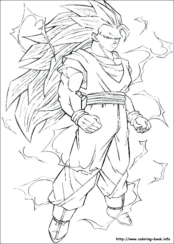 567x794 Dbz Color Pages Color Pages Index Coloring Pages Dragon Ball Z