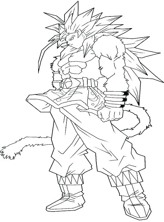 550x741 Dbz Coloring Pages Bardock Sheets View Larger Dragon Ball Z Gt