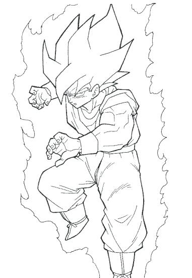 381x550 Dbz Coloring Pages Best Coloring Pages Image Dragon Ball Z Kai