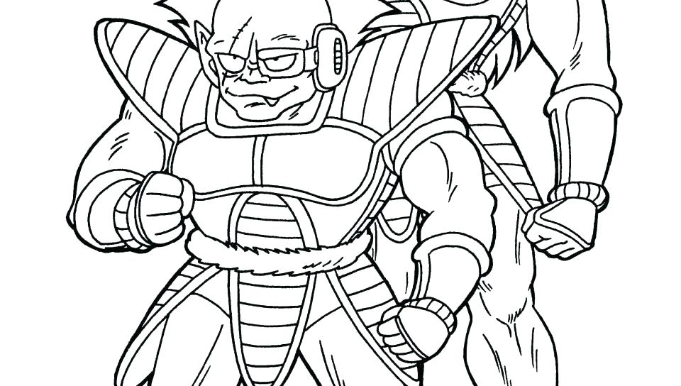 960x544 Dbz Coloring Pages