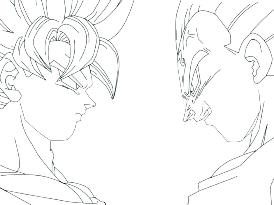940x705 Dragon Ball Z Coloring Page Coloring Pages Dragon Ball Z Dragon