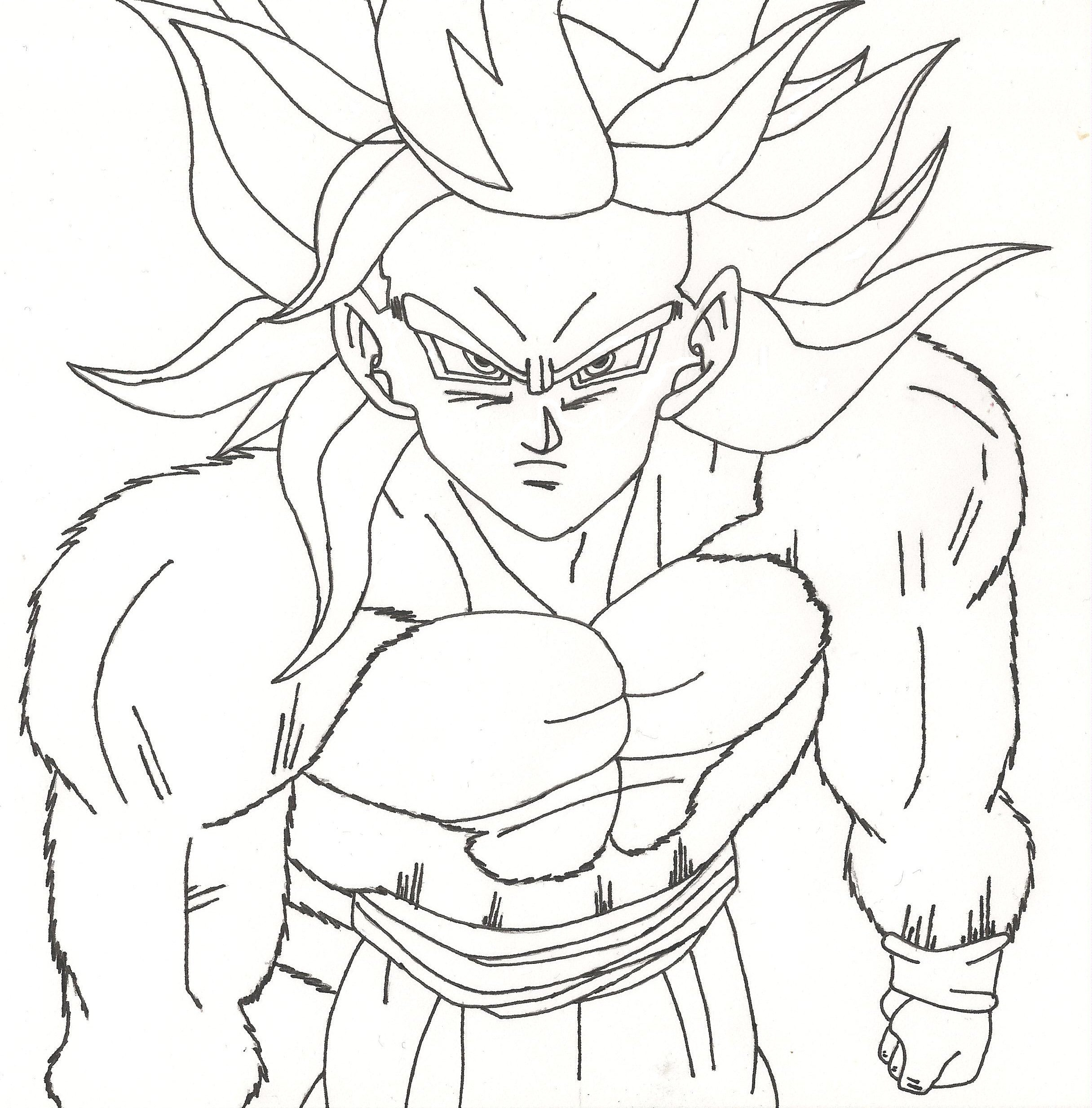 2431x2467 Dragon Ball Z Coloring Pages Best Gogeta Free Ribsvigyapan Com