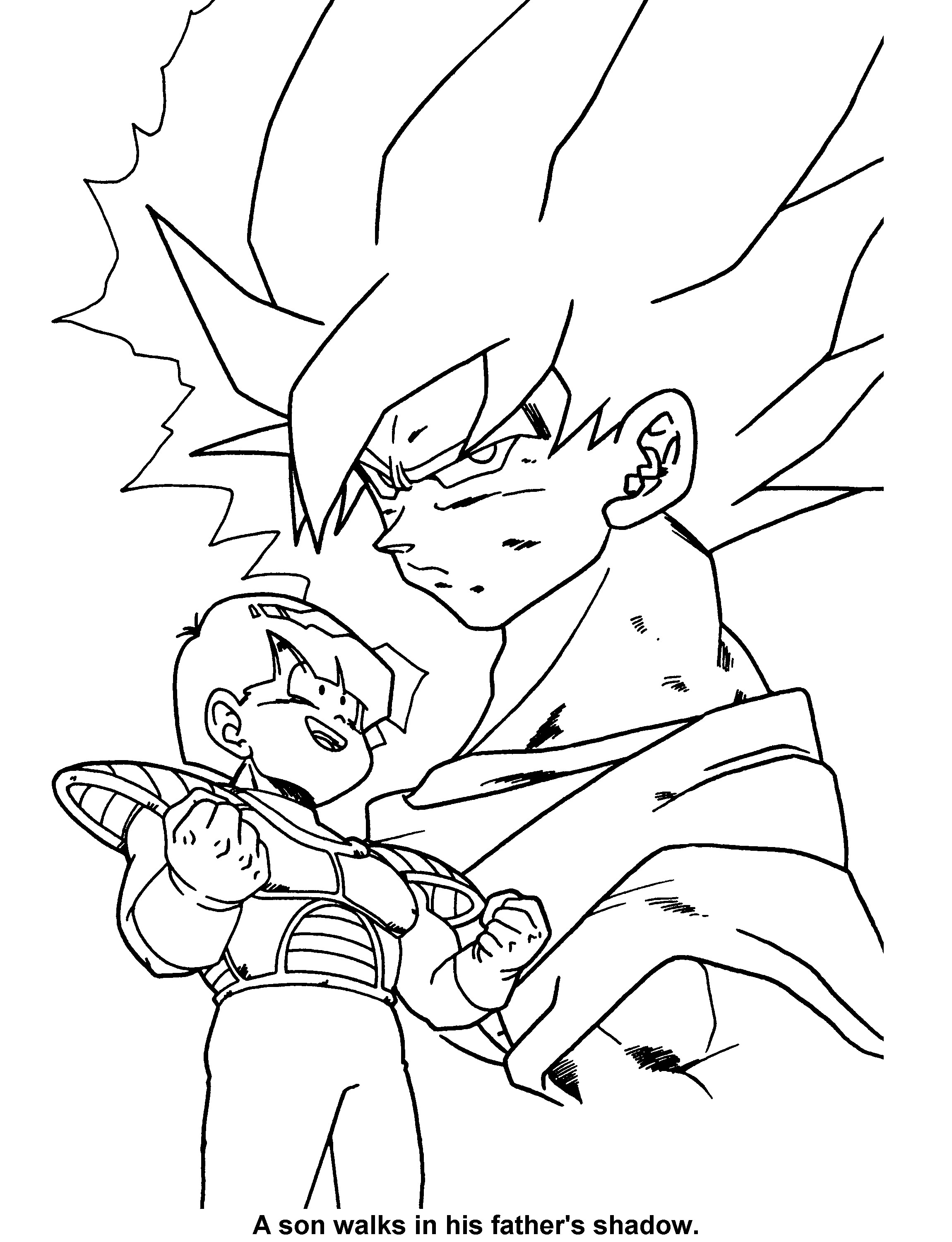 2300x3000 Dragon Ball Z Coloring Pages Games New And Dragonball Free