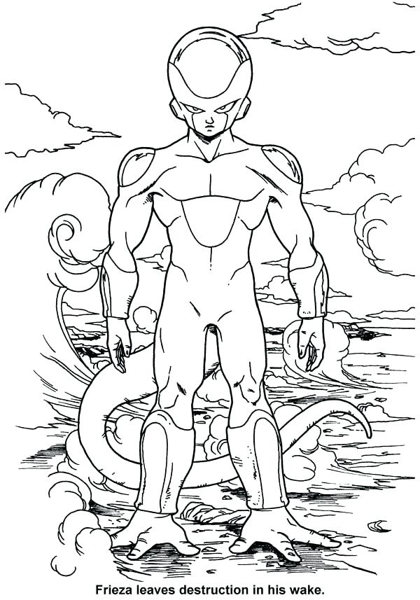600x857 Dragon Ball Z Colouring Games Or Dragon Ball Coloring Page Photo