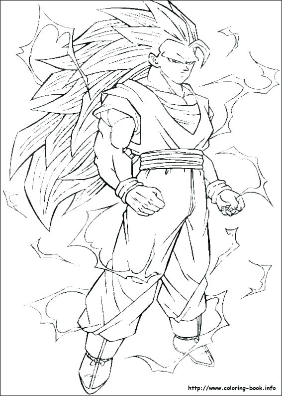 567x794 Dragon Ball Z Colouring Games Together With Coloring Pages