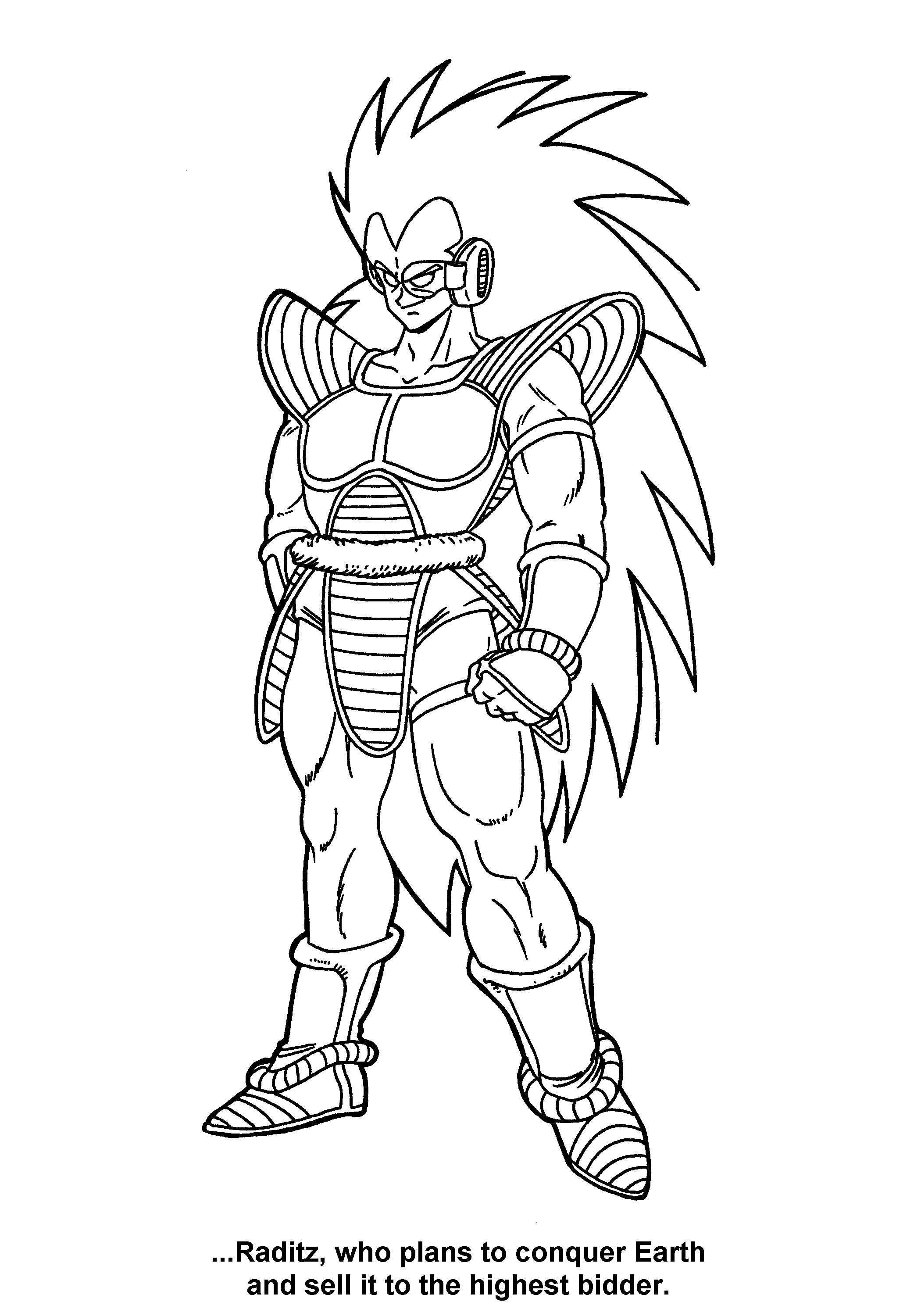 2100x3000 Dragonballz Coloring Pages Acpra