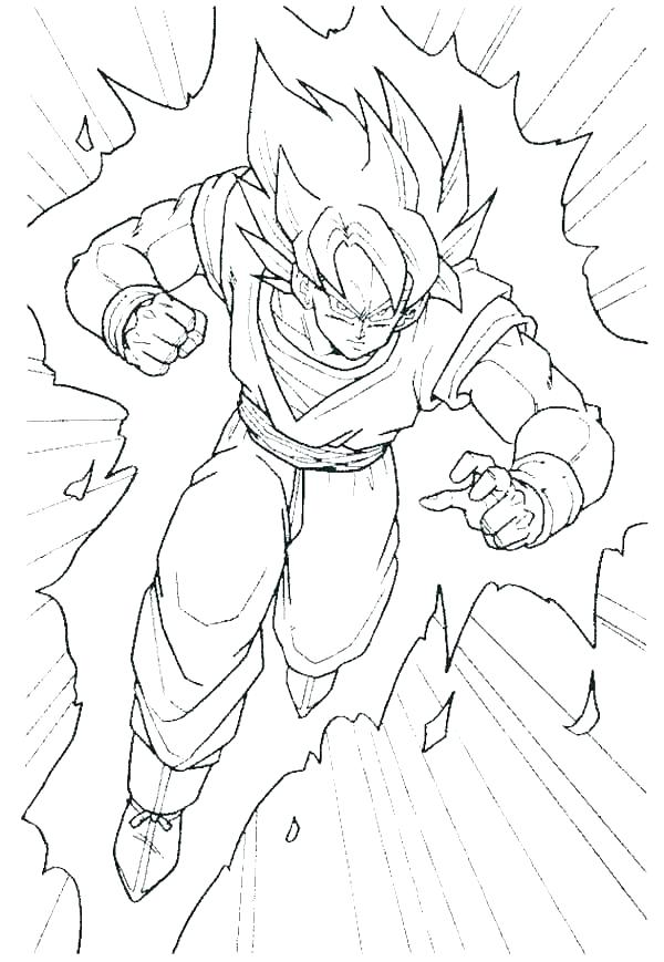600x869 Z Coloring Pages Kid Coloring Pages Dragon Ball Z Z Coloring Pages