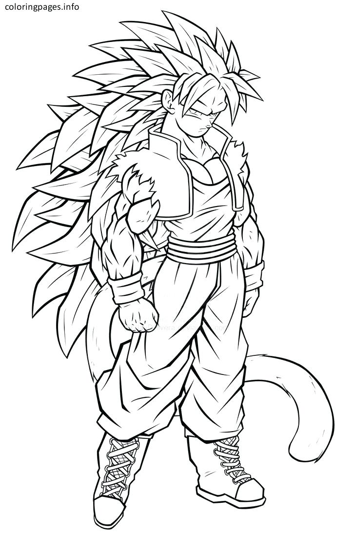 724x1104 Coloring Pages Dbz Coloring Pages Fabulous On Dragon Ball Z Goku