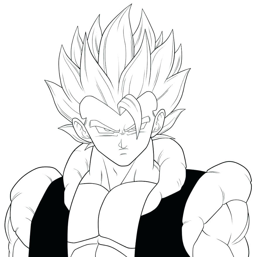 878x878 Coloring Page Dragon Ball Z Coloring Page Best Pages Super