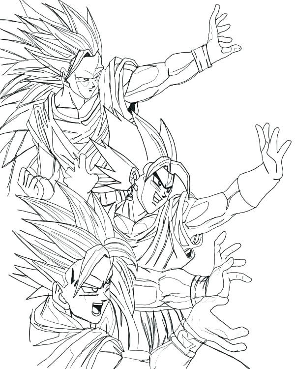 600x750 Dbz Coloring Pages Coloring Games Dragon Ball Coloring Pages