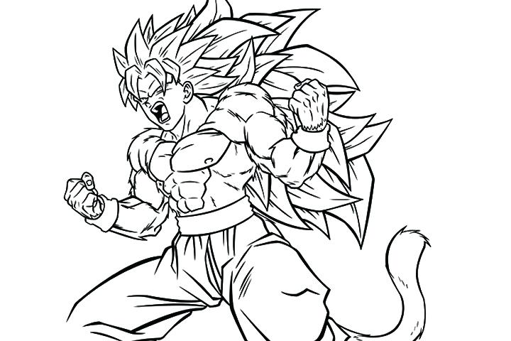 720x480 Dragon Ball Z Coloring Pages Super With Super Coloring Pages