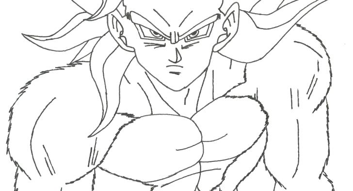 728x393 Dragon Ball Z Goku Super Saiyan Coloring Pages Coloring Pages