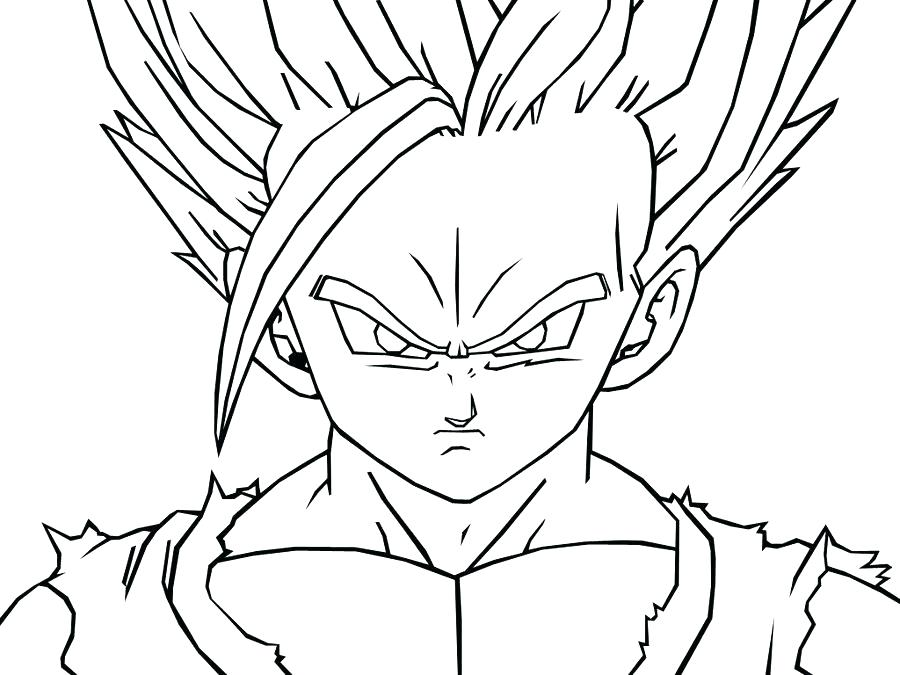 900x675 Dragonball Z Coloring Pages