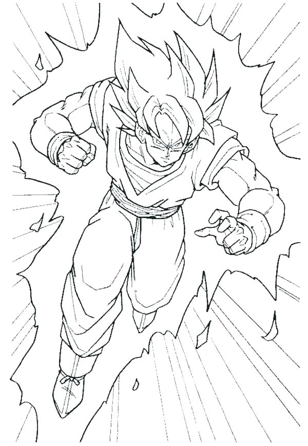 600x869 Dragon Ball Coloring Pictures Ing Dragon Ball Z Coloring Pages