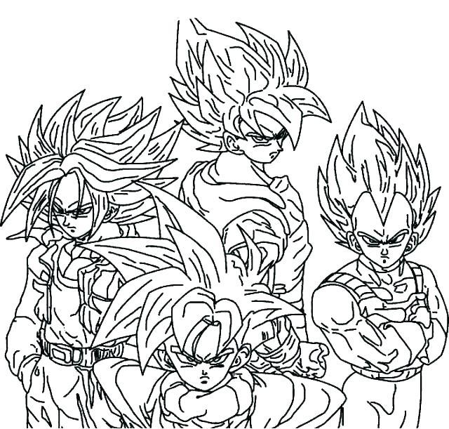 image regarding Dragon Ball Z Coloring Pages Printable identify Dragon Ball Z Coloring Webpages Printable at