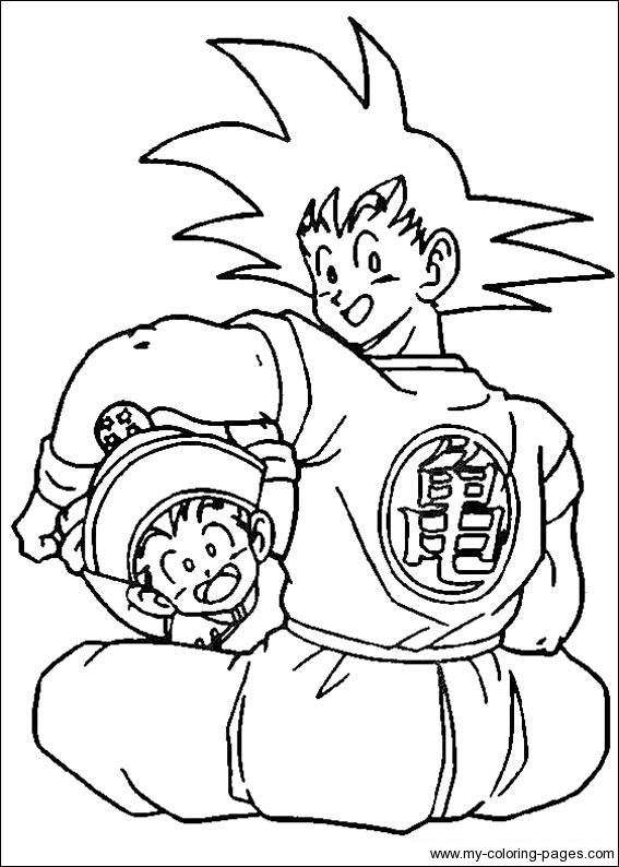 567x794 Dragon Ball Z Coloring Pages Coloring Pages Of Epicness