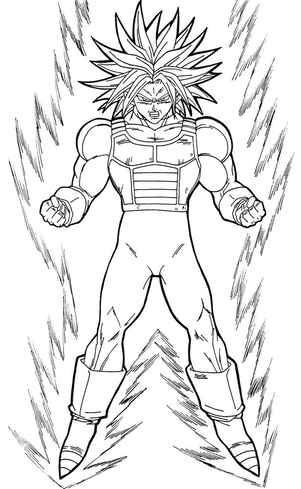 616x999 Dragon Ball Z Coloring Pages To Print Drawings Pictures Printable