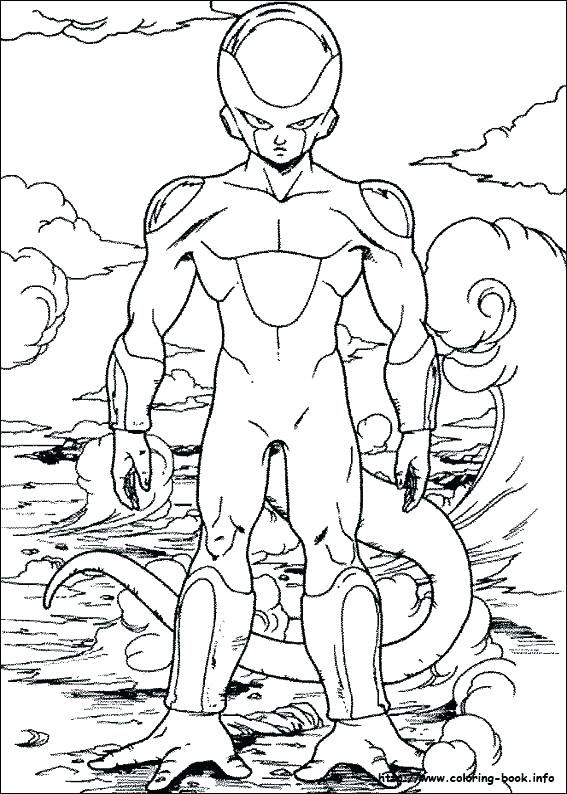 567x794 Minimalist Dragon Ball Z Coloring Pages Print Large Size Of Free