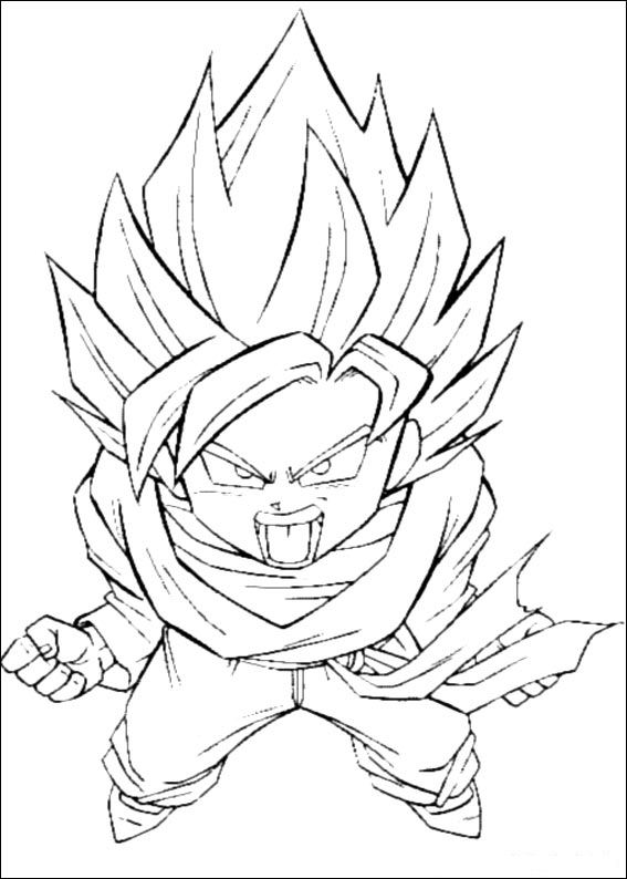 567x794 Dragon Ball Z Coloring Page I Wanna Try Dragon
