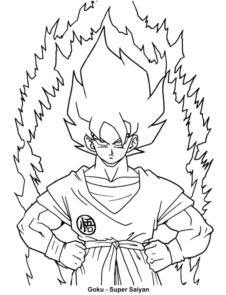 735x960 Get This Online Dragon Ball Z Coloring Pages Online Dragon Ball Z
