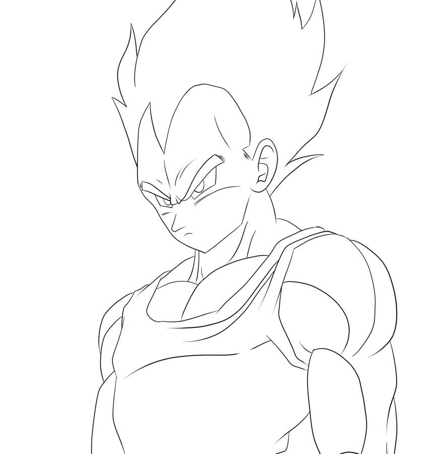 871x900 Vegeta Coloring Pages Beautiful Coloring Pages Or Large Size