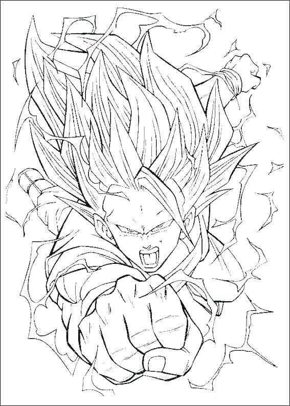 567x794 Vegeta Coloring Pages Coloring Pages Coloring Pages Kid Coloring