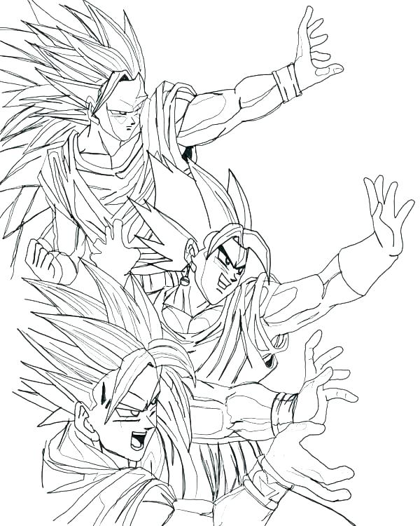 600x750 Dragon Ball Z Coloring Pages Dragon Ball Z Coloring Pages Goku