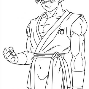 Dragon Ball Z Goku Super Saiyan Coloring Pages at GetDrawings.com ...