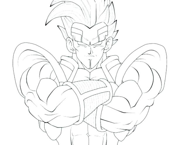 618x494 Goku Super Saiyan Coloring Pages Super Coloring Page Free Download
