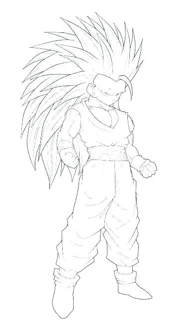 392x650 Goku Super Saiyan Coloring Pages Super Coloring Pages Luxury Super