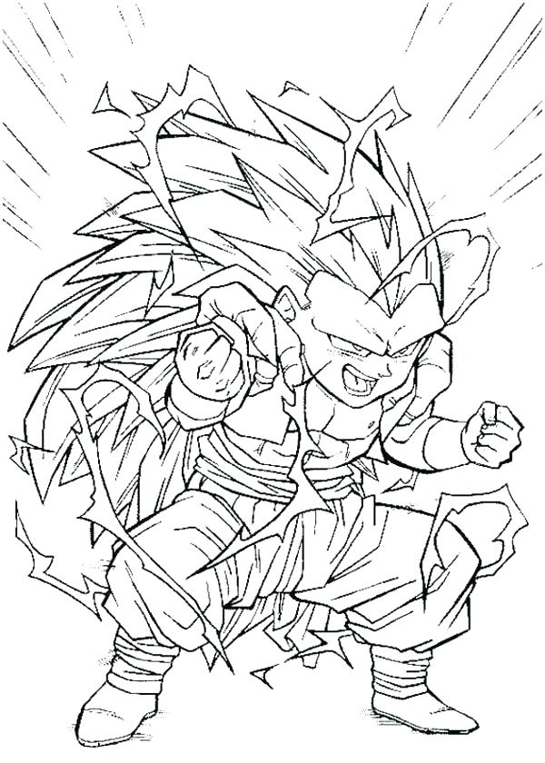 600x840 Super Saiyan Coloring Pages Coloring Pages Super Coloring Pages