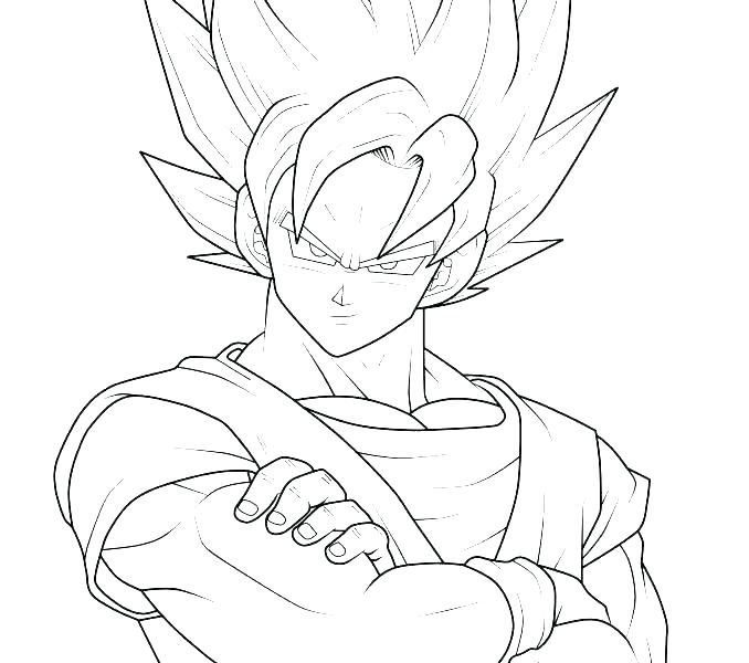 678x600 Vegeta Coloring Pages Super Coloring Pages Super Coloring Pages