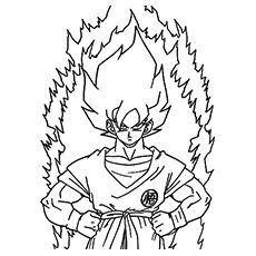 230x230 Dragon Ball Z Coloring Pages