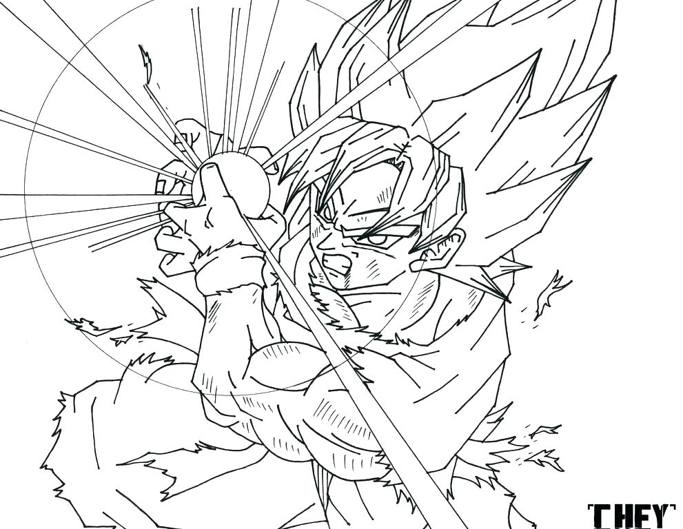 991x768 Dragon Ball Z Kai Coloring Pages Dragon Ball Gt Coloring Pages