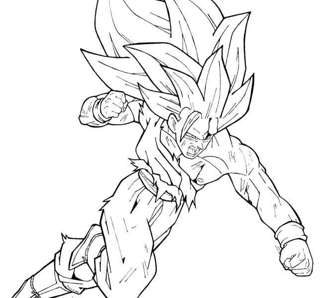 650x600 Dragon Ball Z Kai Coloring Pages Printable Coloring Pages Dragon
