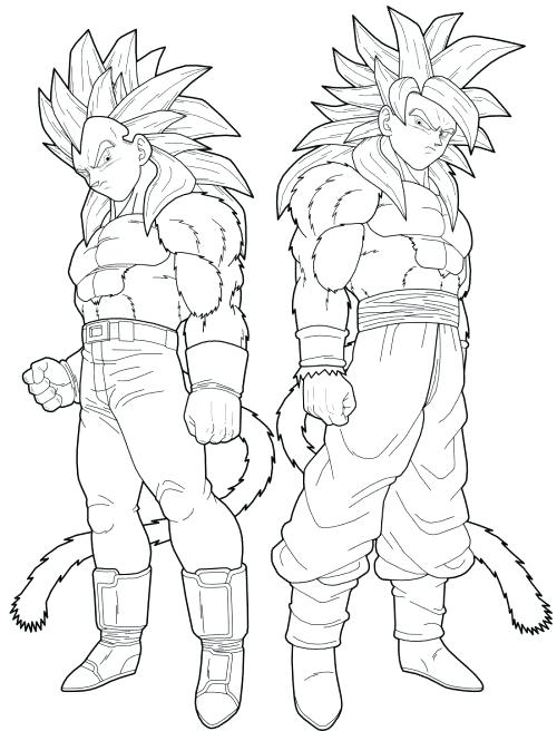 500x656 Dragonball Z Coloring Pages Dragon Ball Z Coloring Pages Super