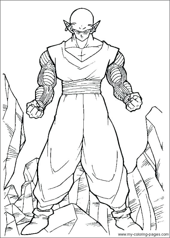 567x794 Printable Dragon Coloring Pages For Kids Dragon Ball Z Coloring