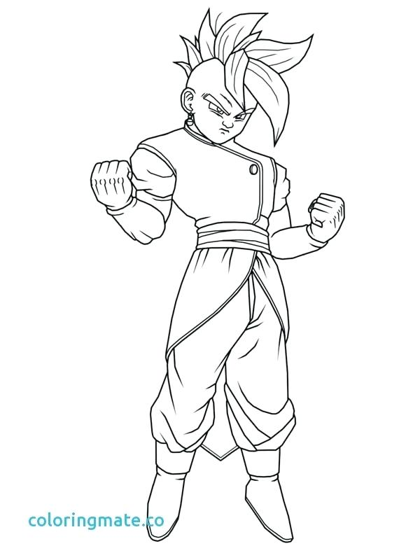 600x800 Dbz Coloring Pages Coloring Pages New Easy Dragon Ball Z Coloring