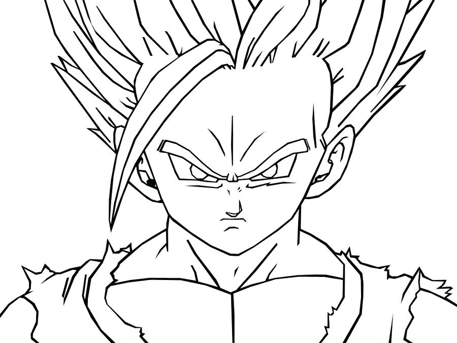 900x675 Dragon Ball Z Coloring Pages Coloring Pages For Kids Z Printable