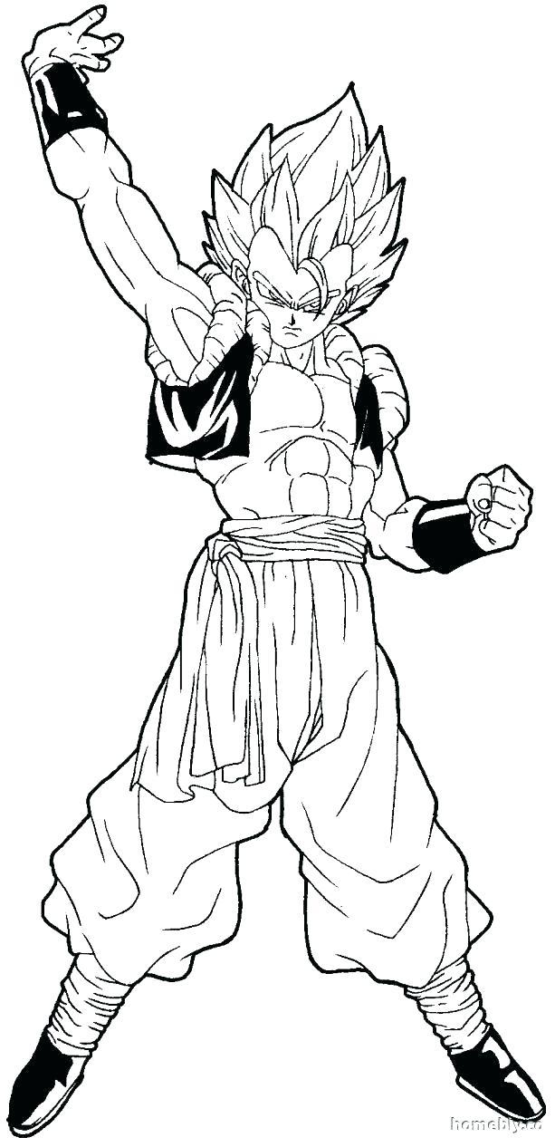 Dragon Ball Z Super Saiyan Coloring Pages at GetDrawings ...