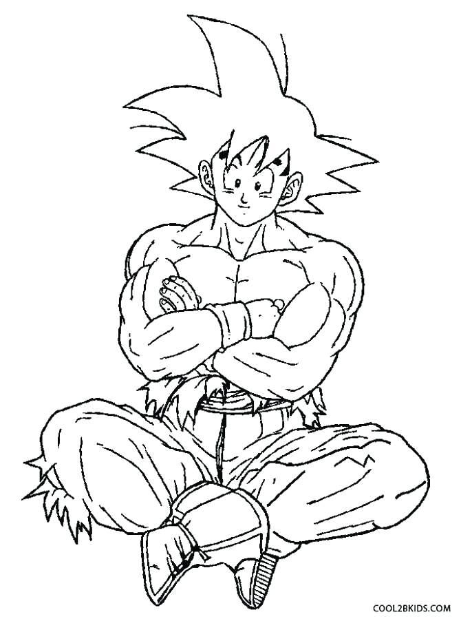 670x902 Super Saiyan Coloring Pages Super Coloring Page Goku Super Saiyan